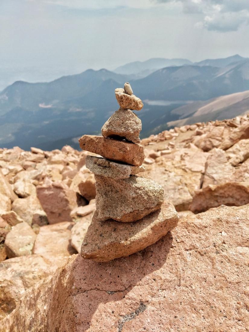 Pikes Peak Cairn