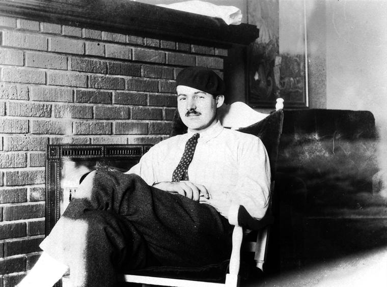 Ernest Hemingway, Paris, circa 1924